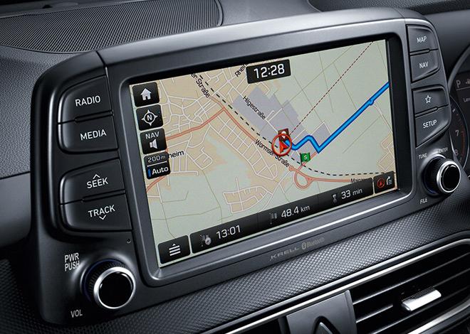 Hyundai Kona Sat Navigation