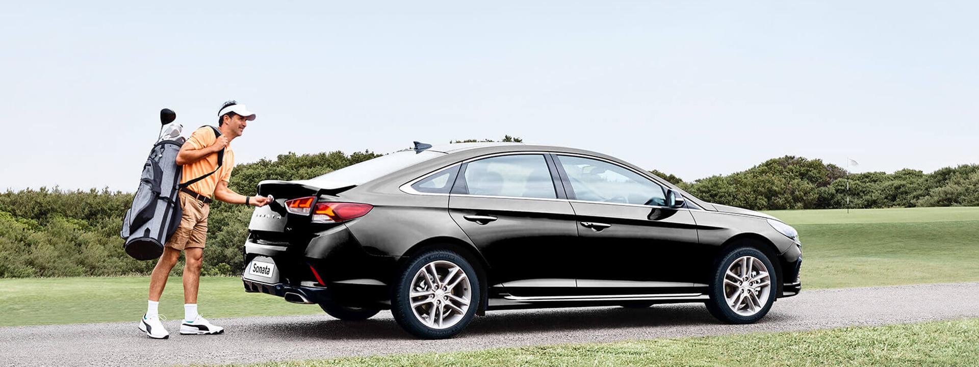 Hyundai Sonata Exterior Shot