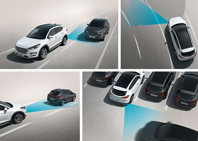 Hyundai Tucson SmartSense Graphics