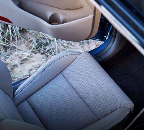 Hyundai Leather Interior