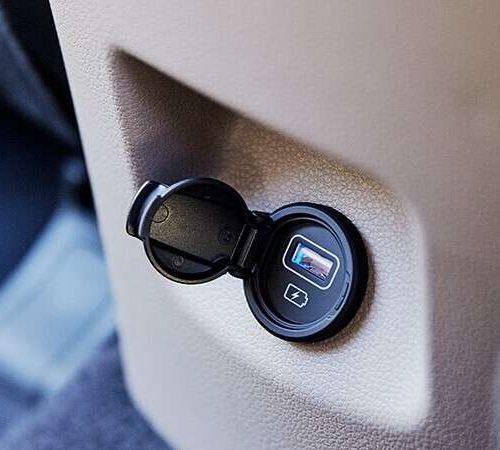Hyundai Tucson USB charger