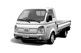 Hyundai H100 Cargo Space