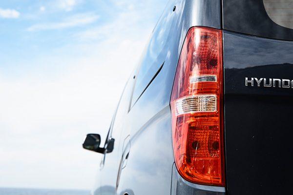 Rear tail lights.