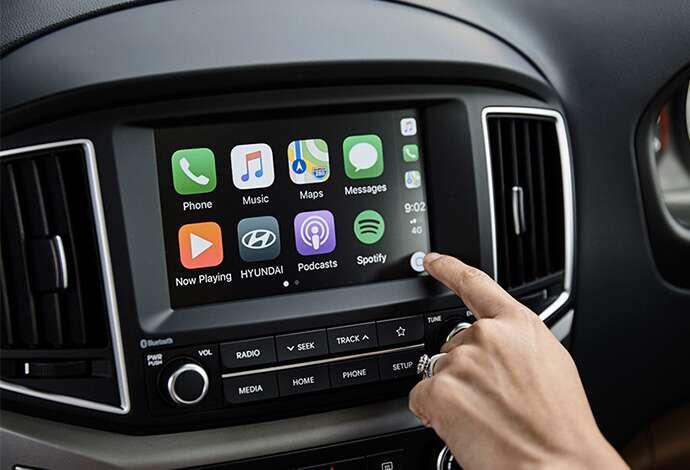 Hyundai H1 Touchscreen apple car play