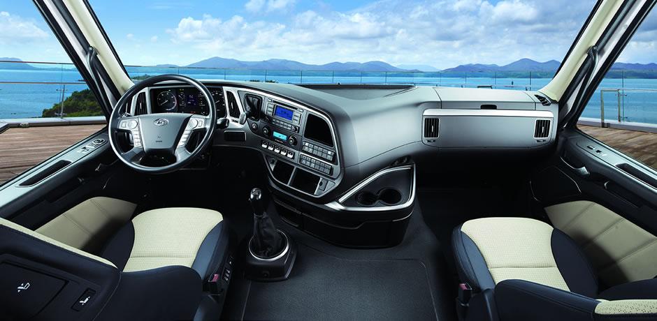 Hyundai XCient Interior photo