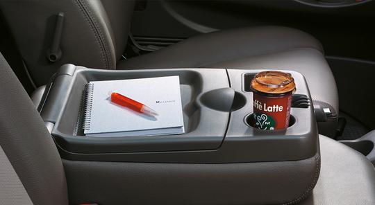 Seatback console