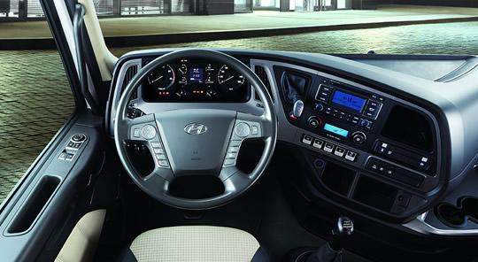 Hyundai Smarter Driving Space for trucks